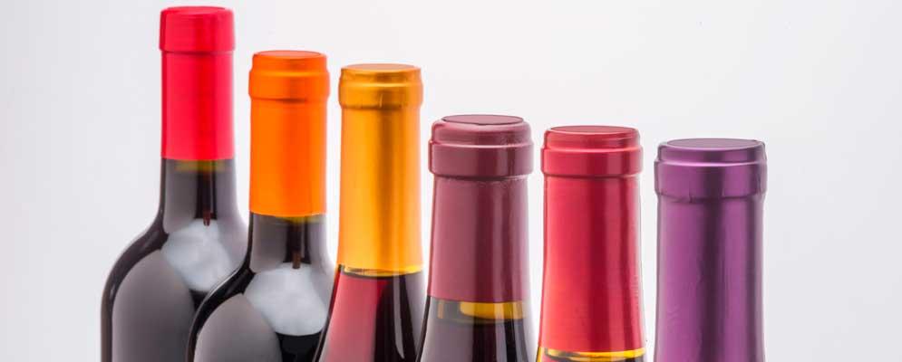 Cápsulas para vino